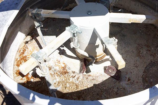 Донная броня Hardox 500 бетонного смесителя