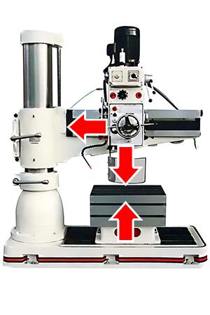 Настройка радиально-сверлильного станка для сверловки стали Hardox